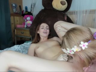 Redhead teen licks sy and gets pounded 4some