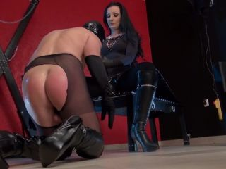 Video online Kinky Mistresses – Lady Luciana – Suck Lucian's Extra Large Strap-on - sissification - toys combat fetish
