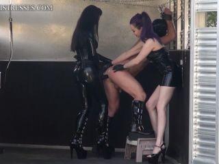 Kinkymistresses - Goddess Valora, Mistress Susi - Fucked in the horse trailer!!!