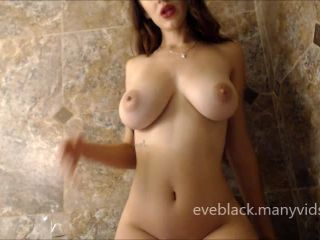 Goddess Evelyn Black - Goddess Worship Oiled Up | financial domination | masturbation porn feet fetish porn