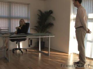 FemmeFataleFilms - Mistress Eleise de Lacy - The Interview - women spanking men on bdsm porn