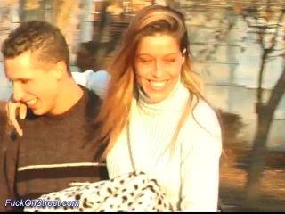 Public sex in park