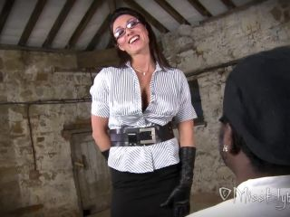 Sylvester's Interview - be pumping spurt after spurt onto my gloves
