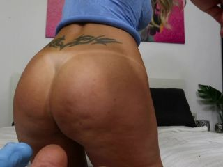 Helena Lana new huge mrhankey dildo anal in doggy pose - F17604  - helena lana - toys big ass home hd