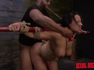 sexual disgrace: becca diamond returns for more rope bondage and bdsm fucking