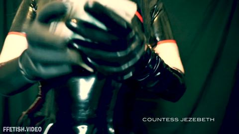 Countess Jezebeth starring in video (Drained by Shiny) [FullHD 1080P]