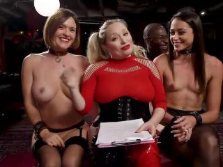 Teen Whore Trained in Anal Bondage By MILF Sex Servant