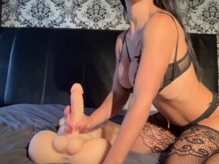 alexaxo93 in Talking Dirty While Riding My Roommate