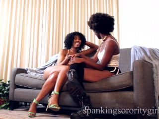 Episode 165 Misty Stone Spanks Daizy for Copying