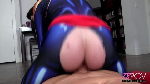 Aubrie Scarlett - Captain Marvel Submits To A Big Dick (1080p)