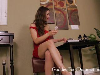 Online porn - Goddess Foot Domination – Goddess Molly – Last Jerk then Chastity femdom