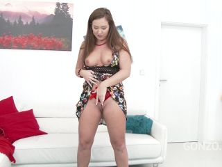 American slut Maddy Oreilly receives rough anal fucking & double anal in Europe SZ1571 / 07.06.2018
