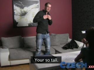 Czech sexy milf impressed with geeks massive cock and excellent stamina