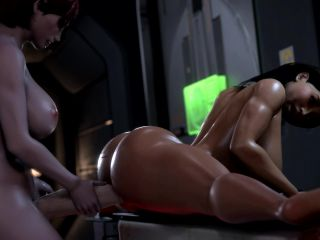 Ashley Fucked By Futa Femshep - Rigid3D Works 2019