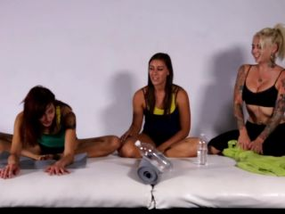 This is how girls yoga class turns into a hot tight full lesbian mayhem