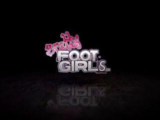 Foot cleaning – Bratty Foot Girls – Maria Marley, Goddess Genesis – Maria's Foot Bitch Roomie