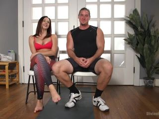 Foot Sniffing Yoga Thug Gets Divine Bitched BASED ON TRUE EVENTS - fetish - feet porn pantyhose fetish sex
