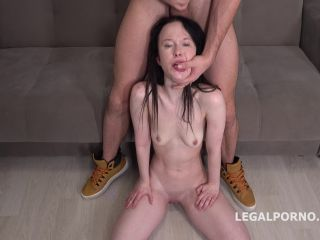 LegalPorno.com - Sweetie Plum - Sweetie Plum First Time DP With Rough Action, Balls Deep Anal, Gapes And Facial GL121  | threesome | cumshot very hardcore sex