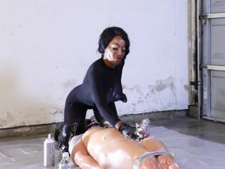 KinkyMistresses – Dirty, Kinky Fun In The Garage – Mistress Adina