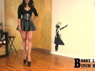 Bossy Latin Bitch in Bossy Delilah: Family Secrets, pvc fetish on fetish porn