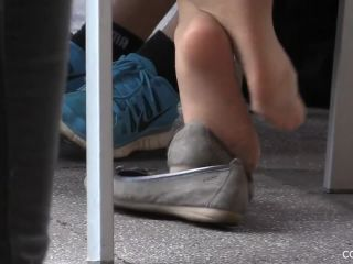 Candid feet!
