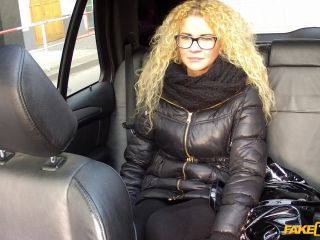 Frizzy Haired Blonde Gets A Mouthful of Cabbie Cock - February 17, 2014
