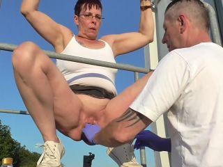 Online SicFlics presents Public punch fisting orgasm – - sicflics