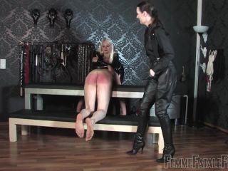 Femmefatalefilms - Mistress Heather, Lady Victoria Valente - Officer!!!