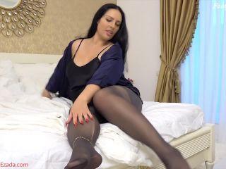 Pantyhose pervert footjob – Mistress Ezada Sinn!!!