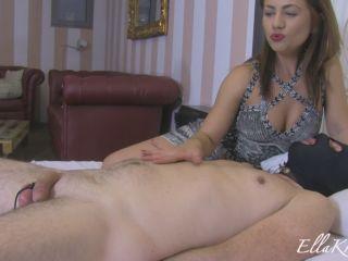 Goddess Ella Kross – Eat Your Own Cum   forced orgasm   femdom porn femdom male chastity