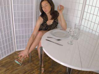 Legs – Janira Wolfe – First Date Phallic Toe Faggot Training - janira wolfe - fetish porn lesbian fetish porn