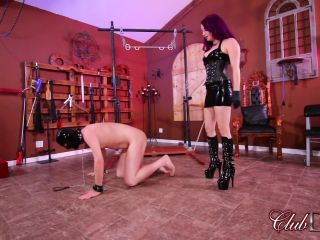 ClubDom - Goddess Valora Demands Obedience - Caning!!!