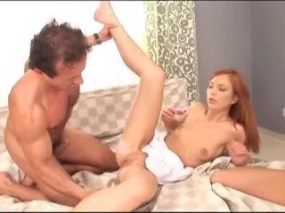 Naughty Teen Whores #9, Scene 3  on threesome high heels femdom