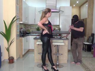 Lady Cruellas - The beaten landlord - Cruel caning!!!