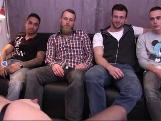 Gangbang with Big Ass Blonde MILF with Big Tits who Gets Cum from Big Dicks