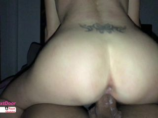ManyVids presents Dani Next Door in Late Night Riding and Sucking