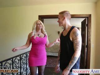 Blonde cougar Alura Jenson jump cock Alura Jenson -