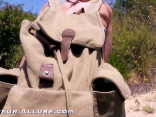 Aidra Fox POV, Public Blowjob on Hiking Trail, Swallows Two Cumshots 2 ...