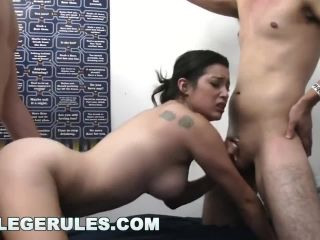 COLLEGE RULES - these Sexy Teens Find that Sharing is Caring!