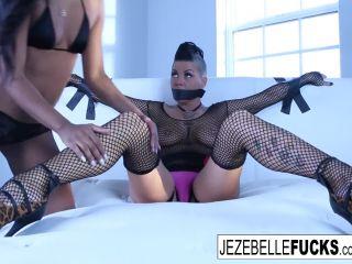 Jezebelle and Ashley return Ashley Pink, Jezebelle Bond – 1 080p | domination | interracial sex porn femdom vibrator