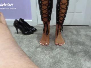 Jerking him off with my oily feet HD - Puszi Likorlova