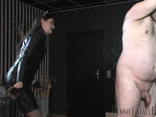 Femmefatalefilms - Lady Victoria Valente - Leather Lady Lashings Part 1-3 - gloves - femdom porn crush fetish xxx