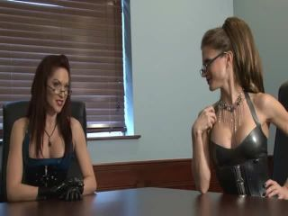 femdom library Subby Hubby - The Office Movie, punishment on fetish porn