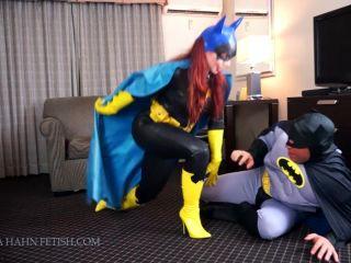 Porn online Ludella Hahns Fetish Adventures – Bat Man Gets BANGed by Brainwashed Batgurl [TRANSFORMATION FETISH, MAGIC CONTROL, SUPER VILLAIN, SCISSORHOLD, FACE SITTING] femdom