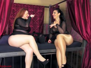 Mistress Ezada Sinn Crushing And Smothering Contest Starring Ezada Sinn And Lady Yna