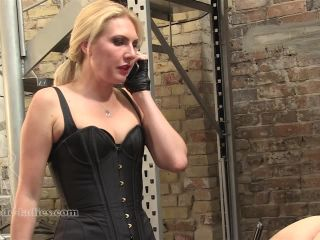 SADO LADIES – Mistress Akella – Red Ass Needed, ear fetish porn on bdsm porn