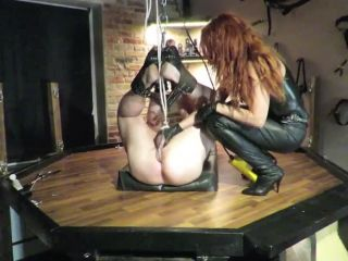 Torture and anal punishment with Danish Mistress
