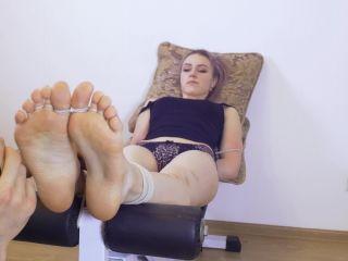 RussianFetish - Astrid tastes foot tickling!!!