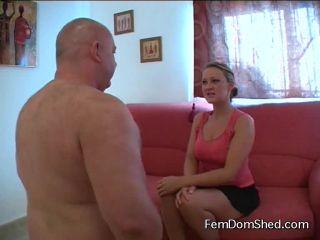 Femdom Shed: Princess Amber - Introducing The Slug With Major Spit - spitting - femdom porn nikki next femdom