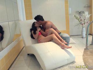 Shrima malati in bikini creampied at pool | porn | creampie hardcore porn gif